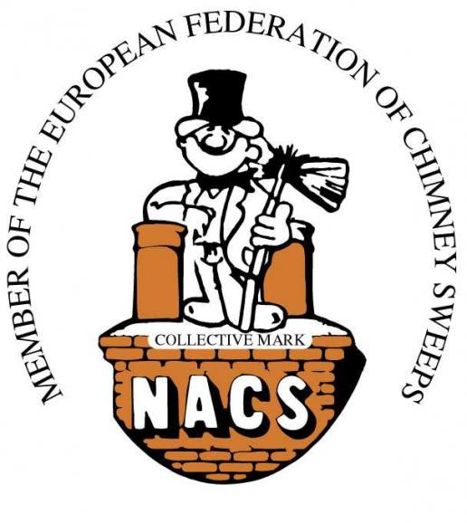 NACS Logo NACS chimney sweep essex CM3 CM11 cm12  chelmsford great baddow stock hanningfield Rochford Essex NACS prefessional body of chimney sweeps